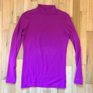 High neck Champion dri fit thermal long sleeve